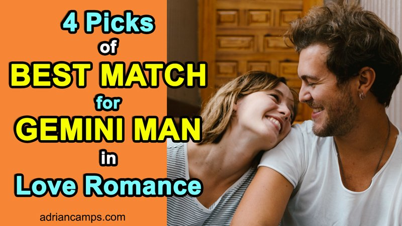 ideal love match for gemini man