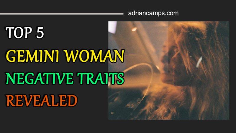 gemini woman negative traits