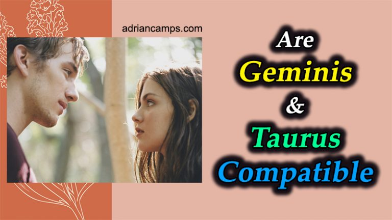 Are Geminis and Taurus Compatible (5 Tips to Make It Work)